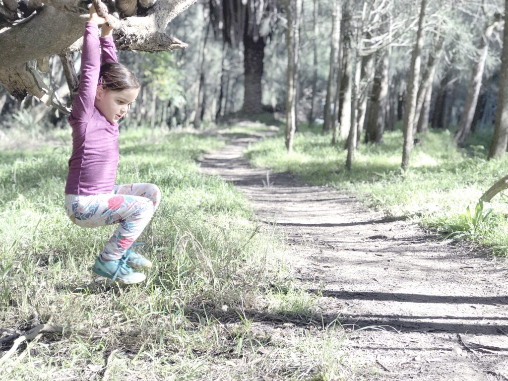 hiking with kids, strength, benefits, outdoors, family